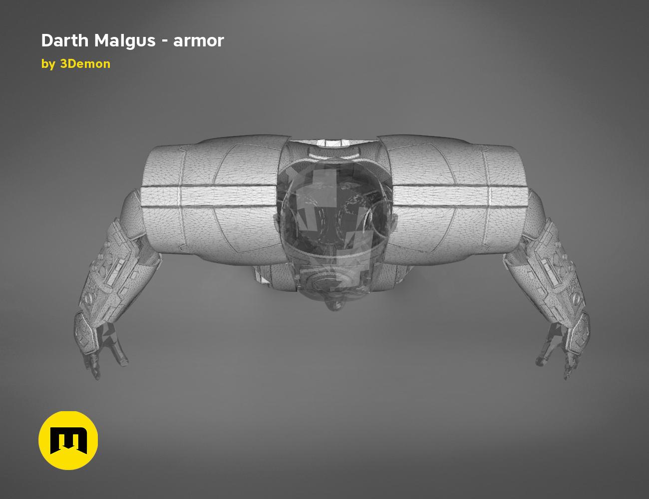 render_scene_darth-malgus-armor-mesh.23 kopie.jpg Download STL file Darth Malgus's full size armor • Design to 3D print, 3D-mon