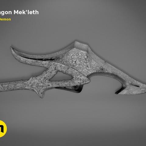 mekleth1_mesh.477.jpg Download OBJ file Klingon Mek'leth - Star Trek • Model to 3D print, 3D-mon