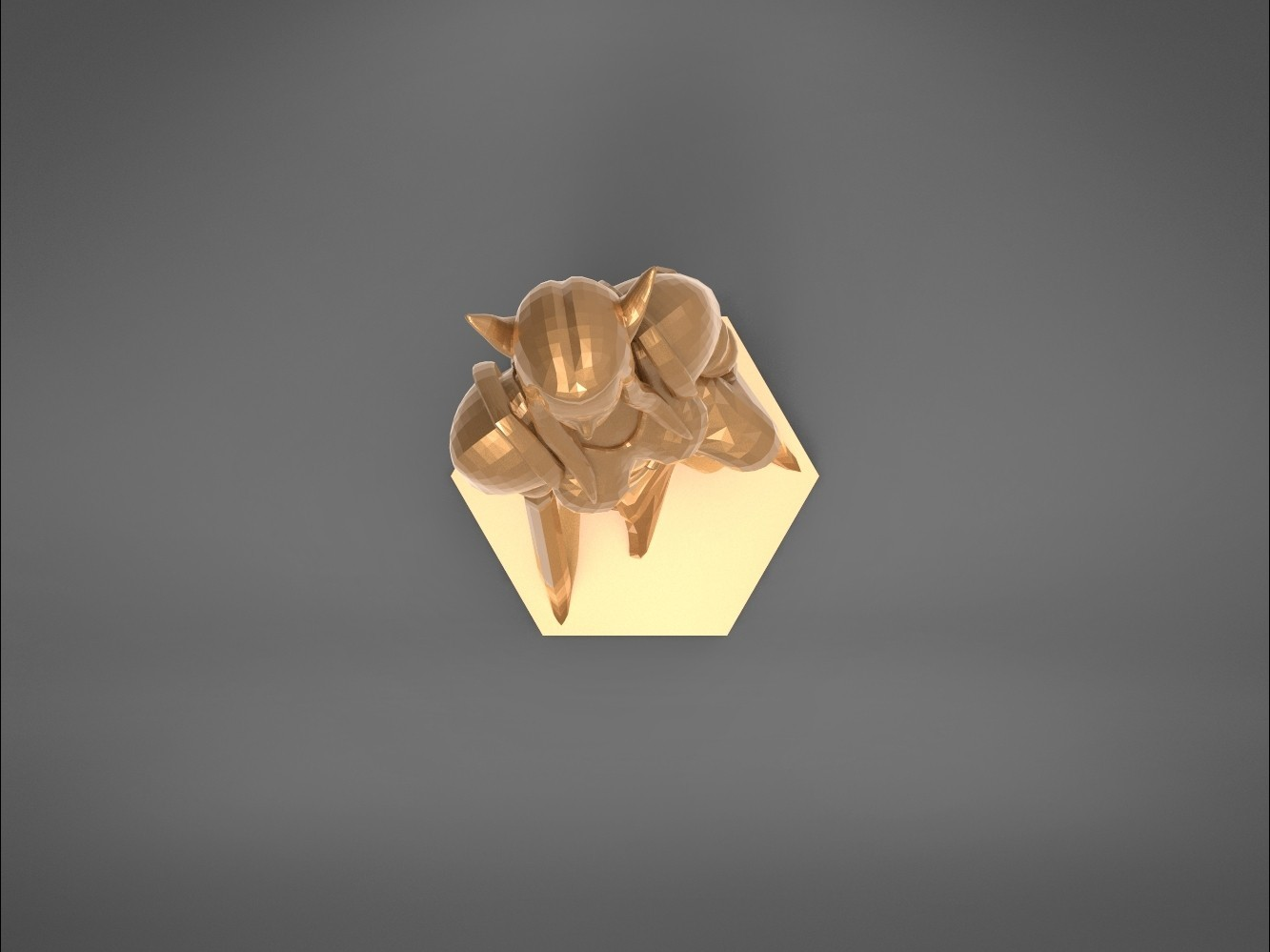 Warrior_2-top_perspective.315.jpg Download STL file ELF WARRIOR FEMALE CHARACTER GAME FIGURE 3D print model • 3D printing object, 3D-mon