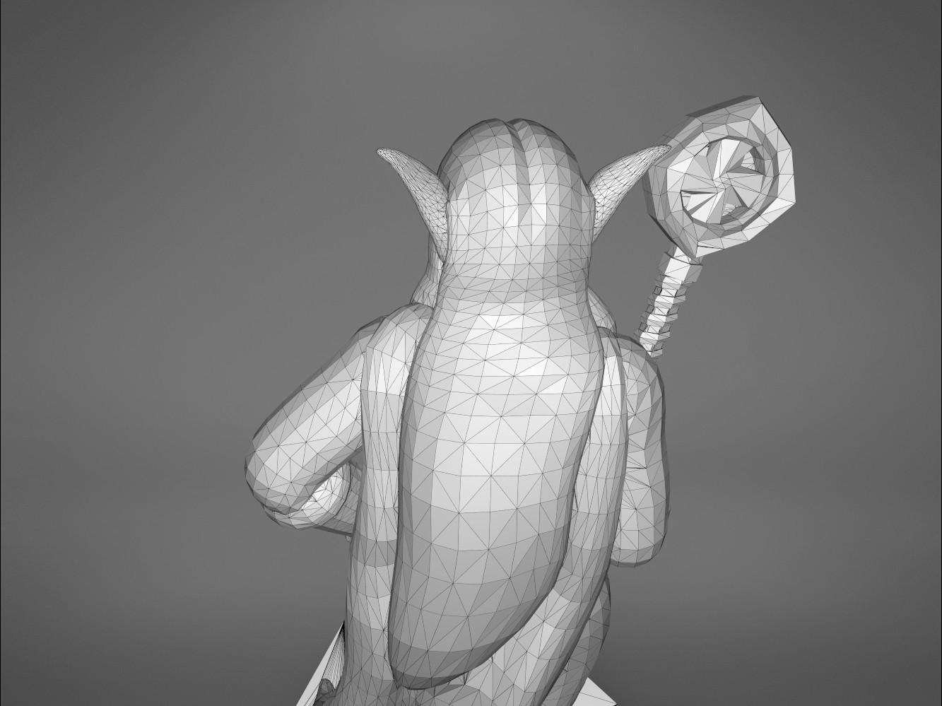 Mage_2_-detail_5.191.jpg Download STL file ELF MAGE FEMALE CHARACTER GAME FIGURES 3D print model • 3D printing template, 3D-mon