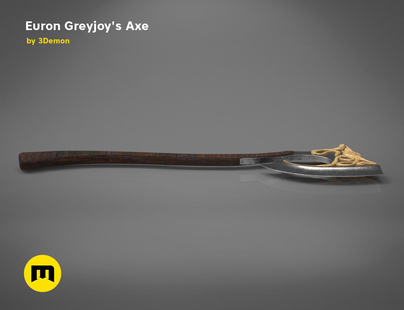 axe-gameofthrones-render.979.jpg Download OBJ file Euron Greyjoy's Axe • 3D printable object, 3D-mon