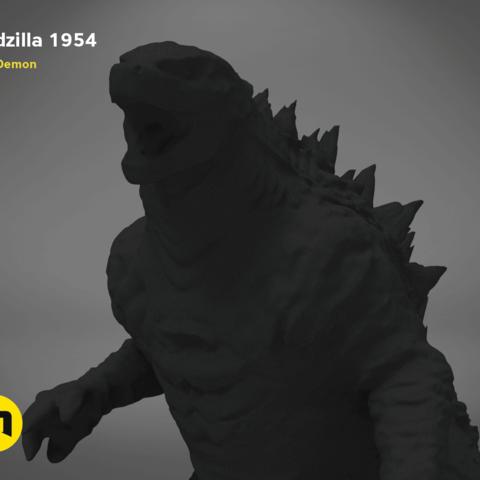 godzilla-black-japanese-detail1.191.png Télécharger fichier OBJ gratuit Godzilla 1954 figurine et ouvre-bouteille • Objet imprimable en 3D, 3D-mon