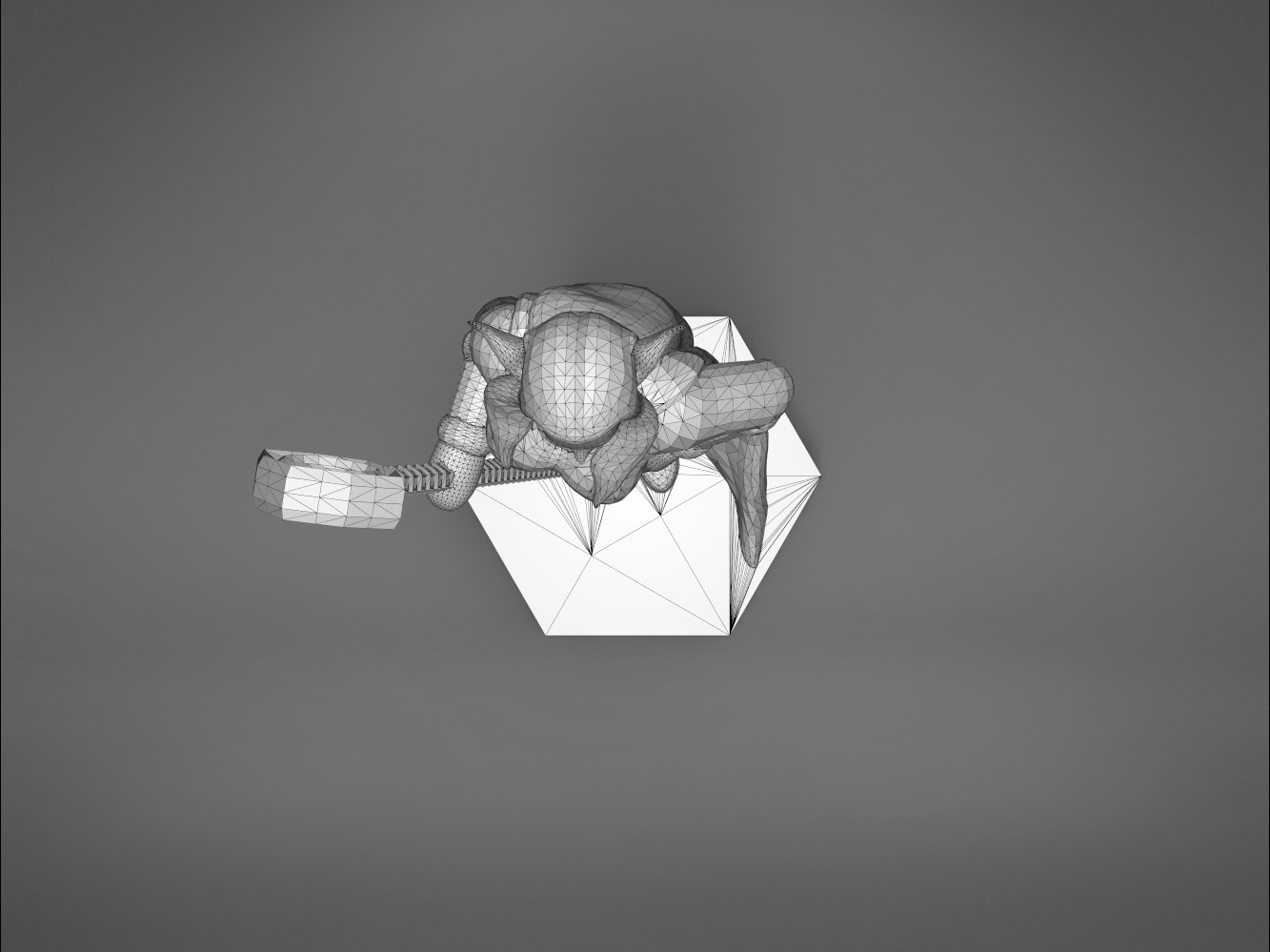 Mage_2_-top_perspective.169.jpg Download STL file ELF MAGE FEMALE CHARACTER GAME FIGURES 3D print model • 3D printing template, 3D-mon