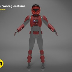 Download 3D printer designs Erik Vonreg armor , 3D-mon