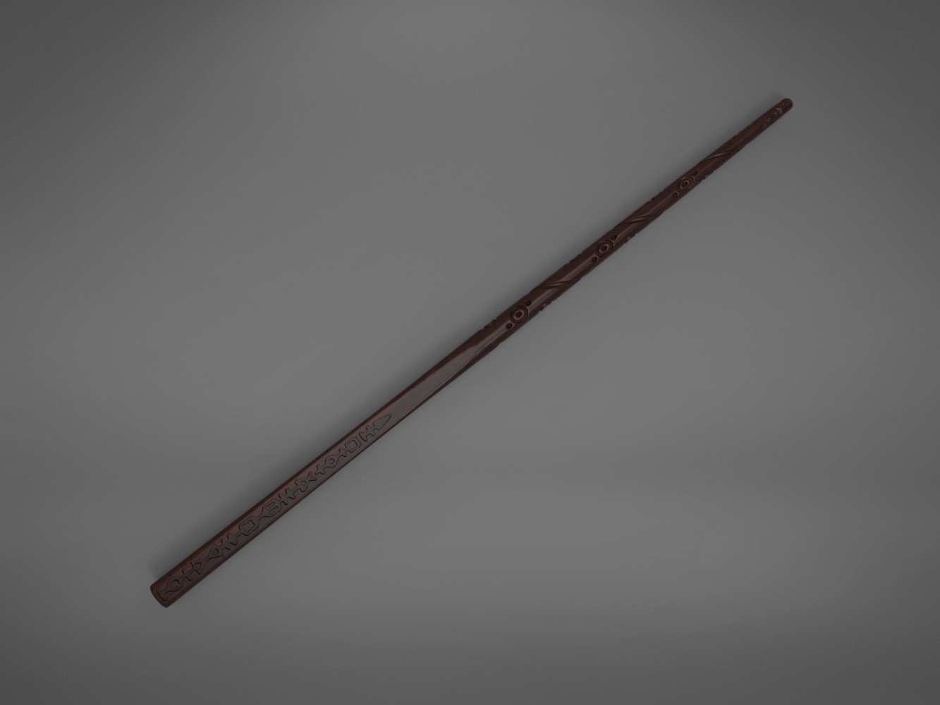 Black-top_perspective.632.jpg Download STL file Sirius Black wand - Harry Potter films 3D print model • 3D print object, 3D-mon