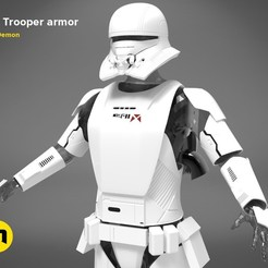Download 3D printing designs Jet Trooper full size armor, 3D-mon