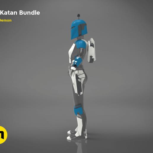 Download Obj File Bo Katan Bundle 3d Printer Template Cults