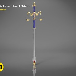 3D print model Maiden sword – Goblin Slayer, 3D-mon