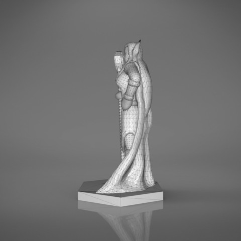 Mage_2_-right_perspective.171.jpg Download STL file ELF MAGE FEMALE CHARACTER GAME FIGURES 3D print model • 3D printing template, 3D-mon