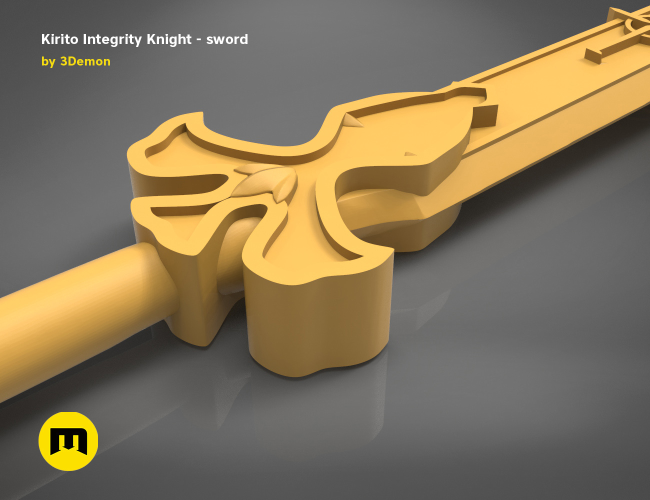 render_scene_Integrity-knight-sword-basic.19 kopie.jpg Download STL file Kirito's Sword - Integrity Knight • 3D print model, 3D-mon