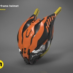 Download 3D printing files Warframe helmet , 3D-mon