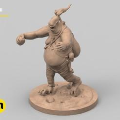 Descargar modelo 3D Figura de troll, 3D-mon