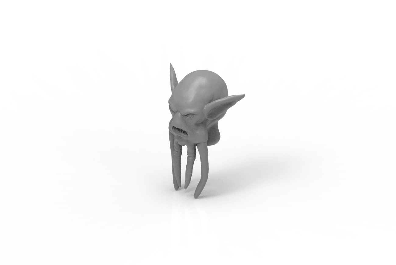 render_scene - kopie-isometric_parts.262.png Download STL file Mask of Akama's face from World of Warcraft • Model to 3D print, 3D-mon
