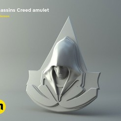 Download STL file Assassins Creed amulet, 3D-mon