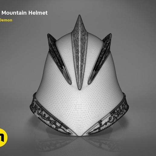 GoT-mountain-helmet-mesh.640.jpg Download STL file The Mountain Helmet – Game of Thrones • 3D printing model, 3D-mon