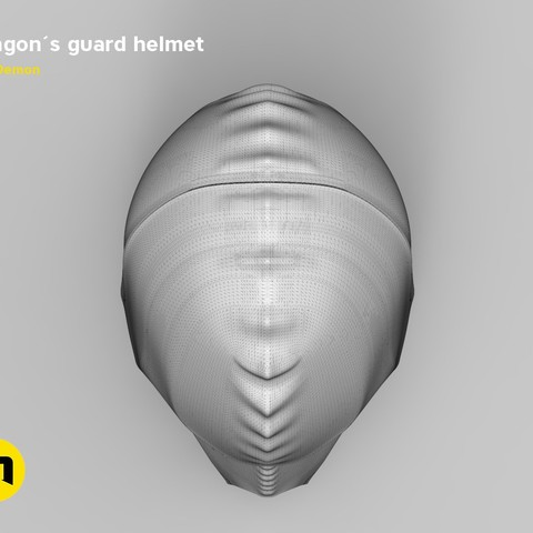 render_klingon_mesh.47.jpg Download STL file Klingon guard helmet • 3D printer object, 3D-mon