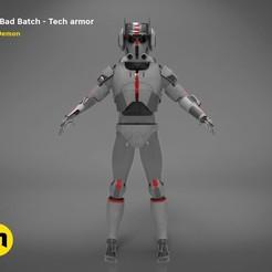 render_Bad_Batch_Tech-color.212.jpg Télécharger fichier OBJ L'armure de Bad Batch Tech • Design pour imprimante 3D, 3D-mon