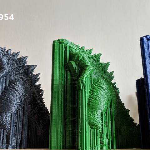 IMG_20190222_113006.png Download free OBJ file Godzilla 1954 figure and bottle opener • 3D printer model, 3D-mon