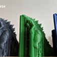 Download free 3D printer templates Godzilla 1954 figure and bottle opener, 3D-mon