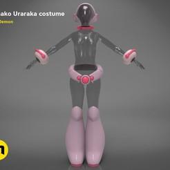 Download 3D printing files Ochako Uraraka costume, 3D-mon
