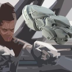 Descargar modelos 3D Shuri Vibranium Blasters, 3D-mon