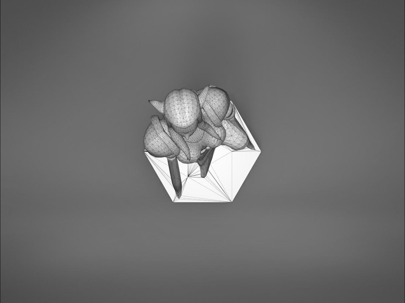 Warrior_2-top_perspective.329.jpg Download STL file ELF WARRIOR FEMALE CHARACTER GAME FIGURE 3D print model • 3D printing object, 3D-mon