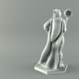 2mage2.png Download STL file ELF MAGE FEMALE CHARACTER GAME FIGURES 3D print model • 3D printing template, 3D-mon