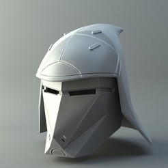 3D print model Helmet Seventh Sister Star Wars, 3D-mon