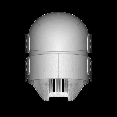 render_scene-back.109.png Download OBJ file Sniper - Knights of Ren Helmet mask, Star Wars 3D print model • 3D printable model, 3D-mon