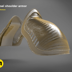 Download 3D printer designs Cersei shoulder, 3D-mon
