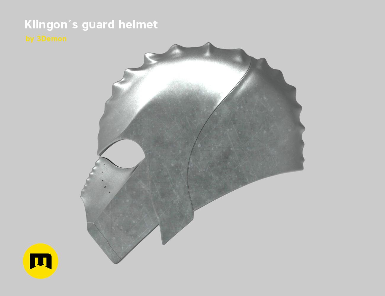 render_klingon_color.54.jpg Download STL file Klingon guard helmet • 3D printer object, 3D-mon