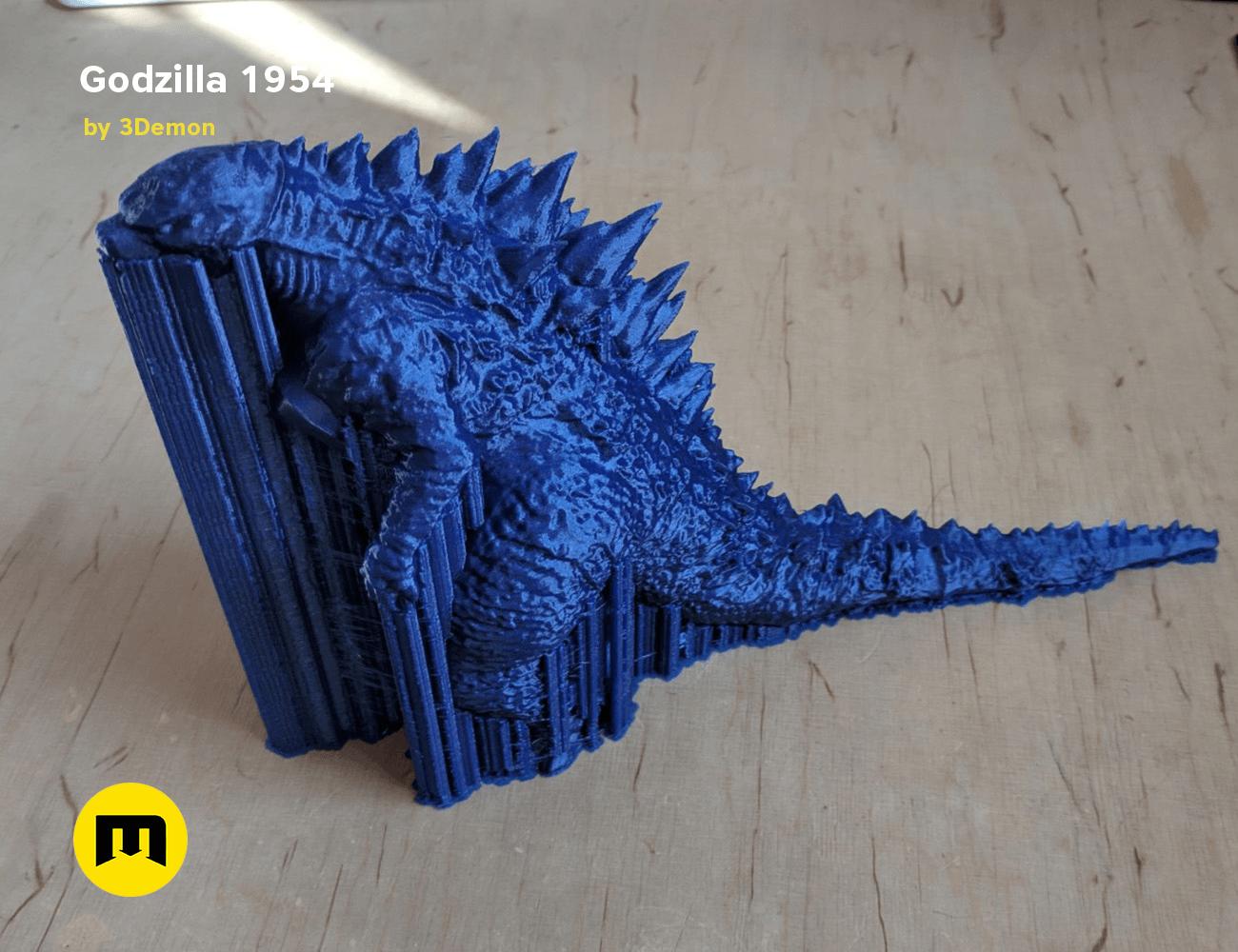 IMG_20190225_114219.png Download free OBJ file Godzilla 1954 figure and bottle opener • 3D printer model, 3D-mon