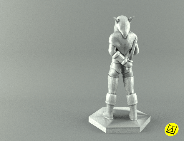 2rogue2 render.png Download STL file ELF ROGUE FEMALE CHARACTER GAME FIGURES 3D print model • 3D printer object, 3D-mon