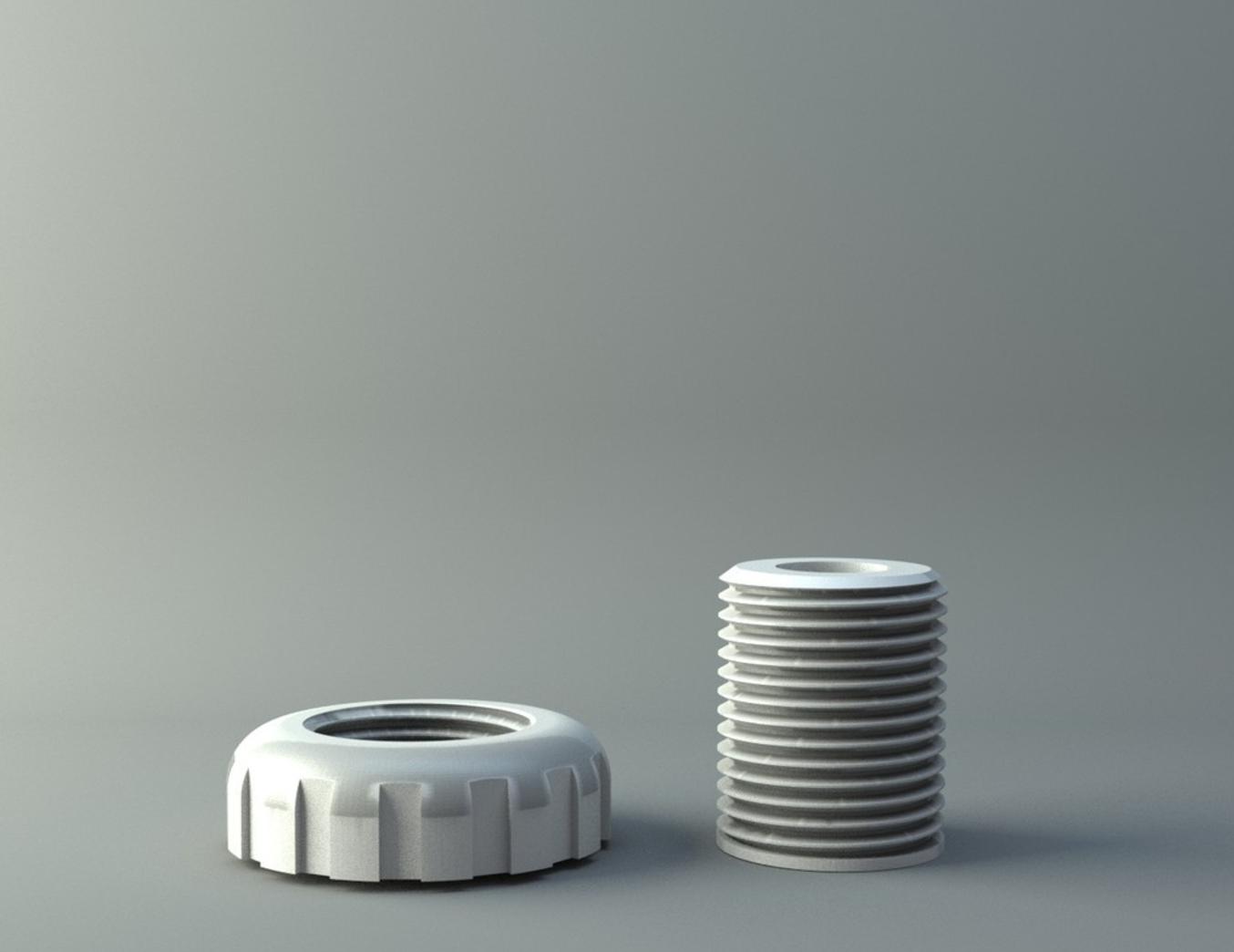 Capture d'écran 2017-01-11 à 14.35.11.png Télécharger fichier STL gratuit nut and screw ( thread 11mm ) • Modèle à imprimer en 3D, 3D-mon