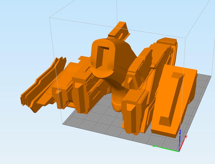 klingon disruptor parts.png Download STL file Klingon rifle • Model to 3D print, 3D-mon