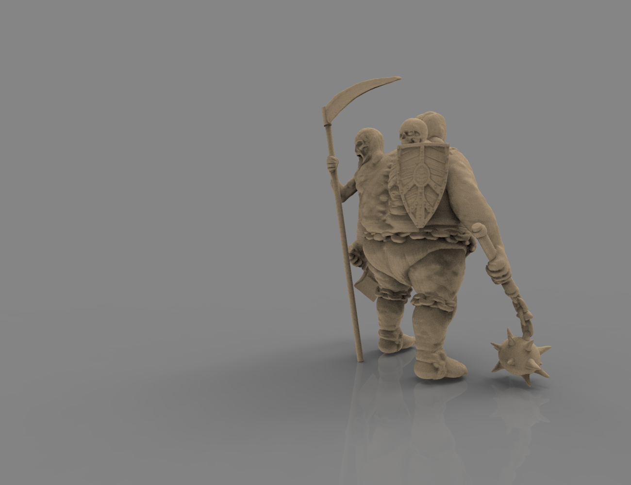 fatman_scene.78.png Download STL file Pirfes figure - 3D print model • Design to 3D print, 3D-mon