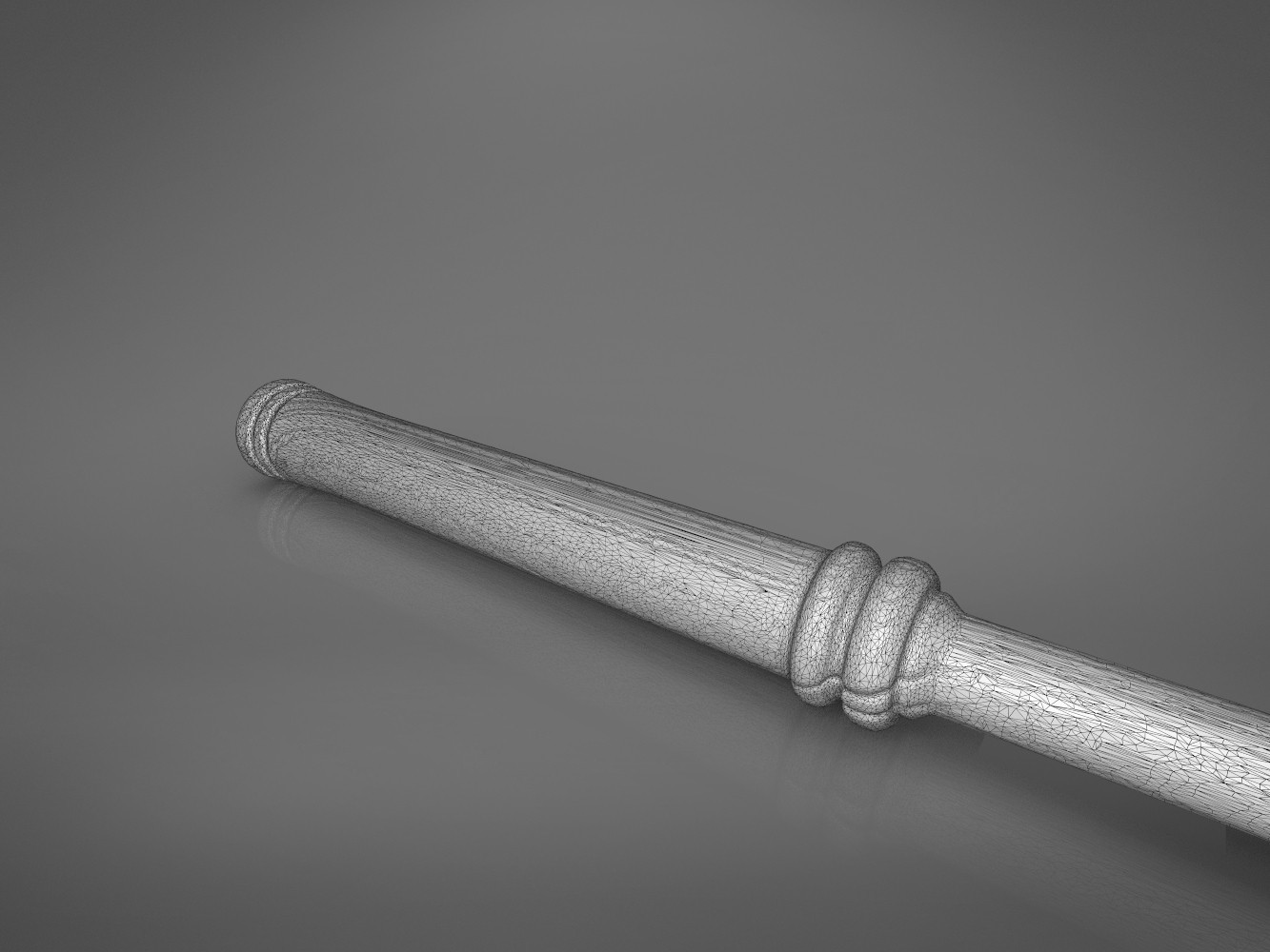 Bonus-detail_2.704.jpg Download STL file Ron Weasley broken wand - Harry Potter films 3D print model • 3D print design, 3D-mon