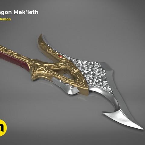 mekleth1_color_render.472.jpg Download OBJ file Klingon Mek'leth - Star Trek • Model to 3D print, 3D-mon