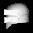 render_scene-right.105.png Download OBJ file Sniper - Knights of Ren Helmet mask, Star Wars 3D print model • 3D printable model, 3D-mon