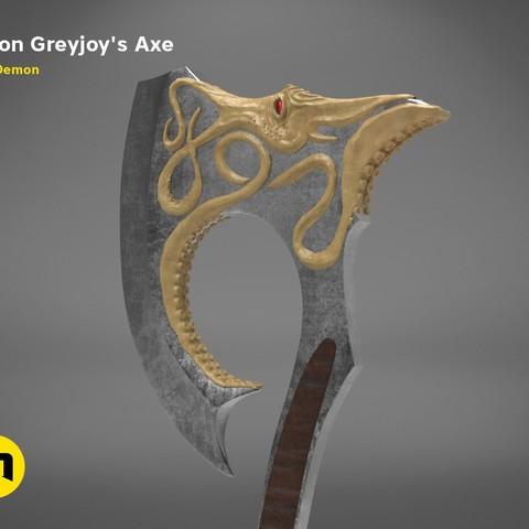 axe-gameofthrones-render.974.jpg Download OBJ file Euron Greyjoy's Axe • 3D printable object, 3D-mon