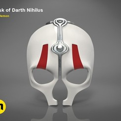 Download 3D printing models Mask of Darth Nihilus , 3D-mon