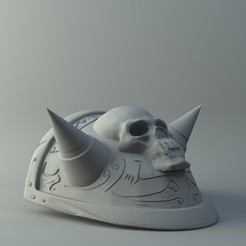 3D printer models Akamas Shoulder plate 3D print model, 3D-mon