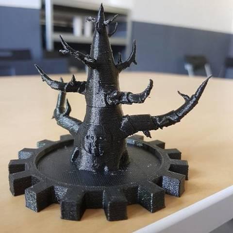 Descargar Modelos 3D para imprimir gratis Juego de tronos del árbol de Invernalia, 3D-mon