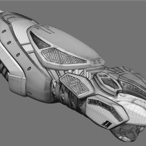 5B82BEDC-5044-4A40-B811-0649734575CB.png Download STL file Shuri Vibranium Blasters • 3D print model, 3D-mon
