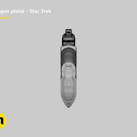 render_pistol_mesh.848.jpg Download STL file Klingon pistol – Star Trek • Template to 3D print, 3D-mon