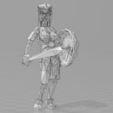 Modelos 3D para imprimir gratis Lowpoly Viking _ parte 5, 3D-mon