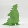 STL gratis Lowpoly Tyranitar Pokemon, 3D-mon