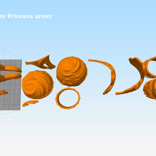 Xena-armor-parts3.jpg Download STL file Xena - Warrior Princess cosplay armor • 3D print template, 3D-mon