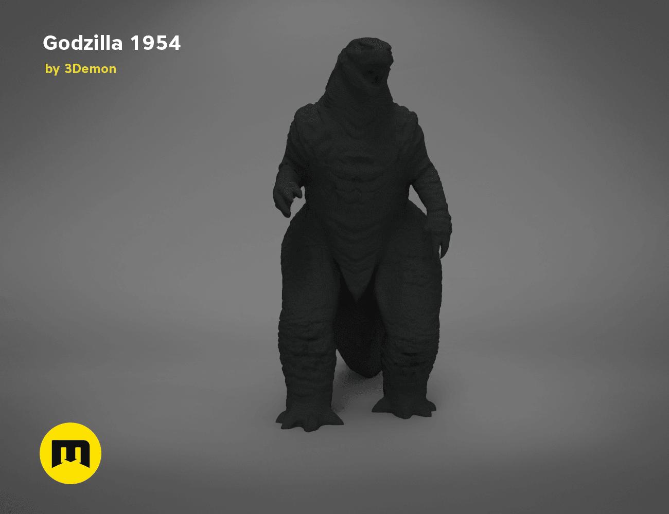 godzilla-black-japanese-front.195.png Télécharger fichier OBJ gratuit Godzilla 1954 figurine et ouvre-bouteille • Objet imprimable en 3D, 3D-mon
