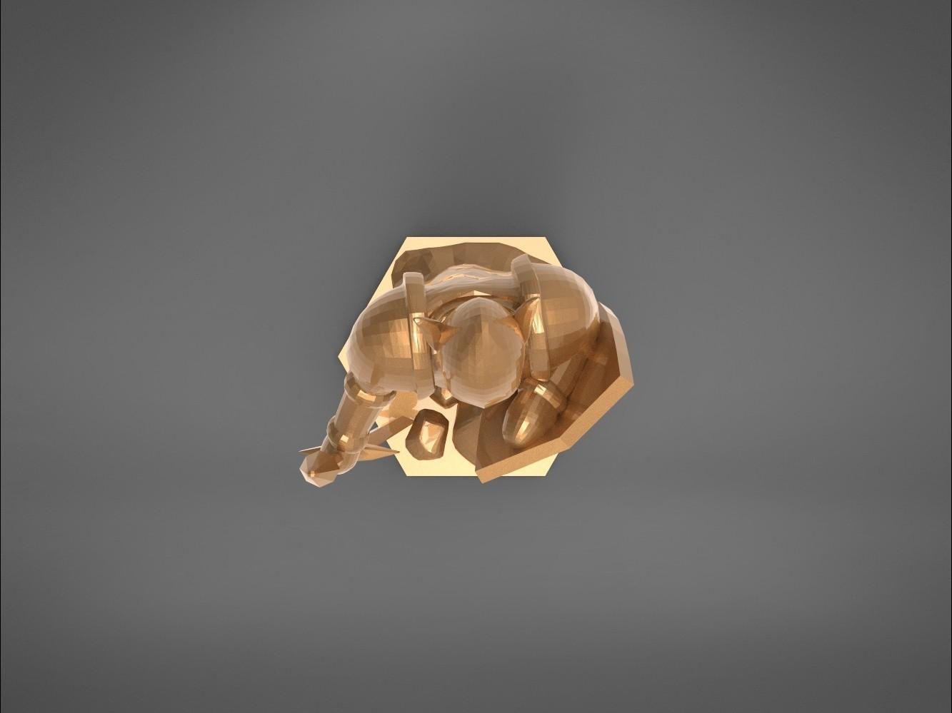Warrior-top_perspective.355.jpg Download STL file ELF WARRIOR CHARACTER GAME FIGURE 3D print model • Object to 3D print, 3D-mon